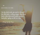 Happy Girl and Beach Love Quote
